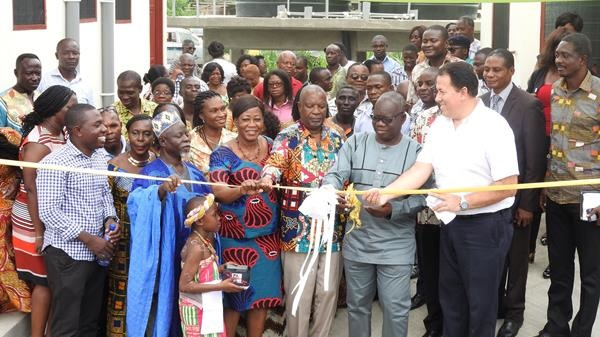 Handing over of USAID/Coca Cola/WADA institutional latrines for Tanoso MA Basic Schools